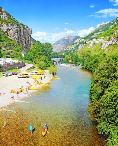 location canoe- gorges du tarn